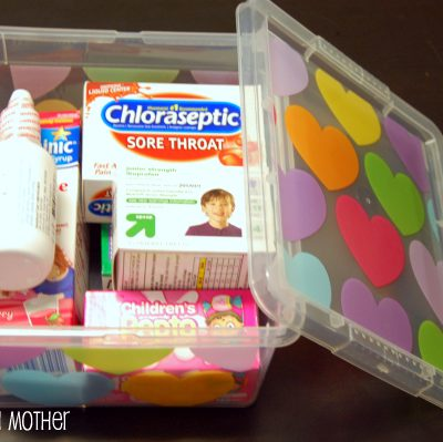 Back-to-School Medicine Cabinet
