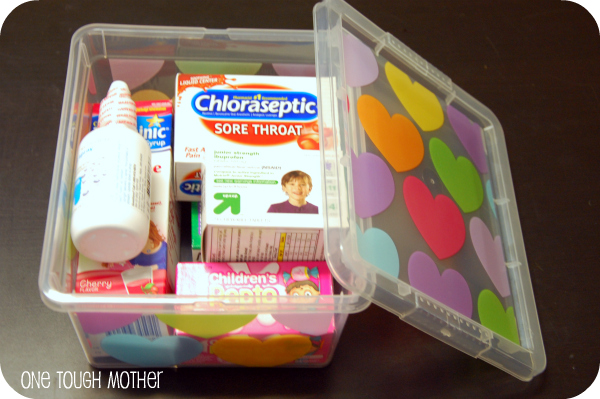 Back-to-School Medicine Cabinet