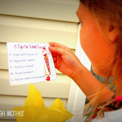 Back to School Countdown & Craft Tutorial