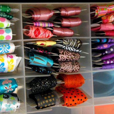 MORE Craft Room Organization