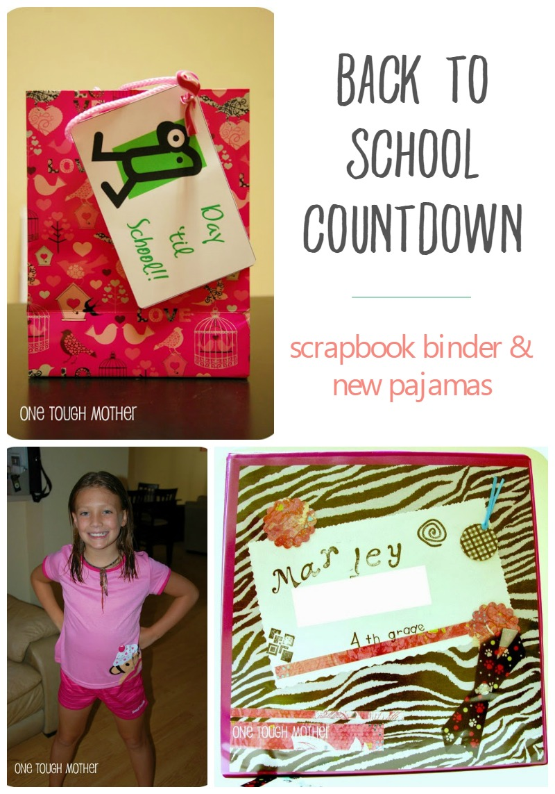 Back to School Countdown Day 1