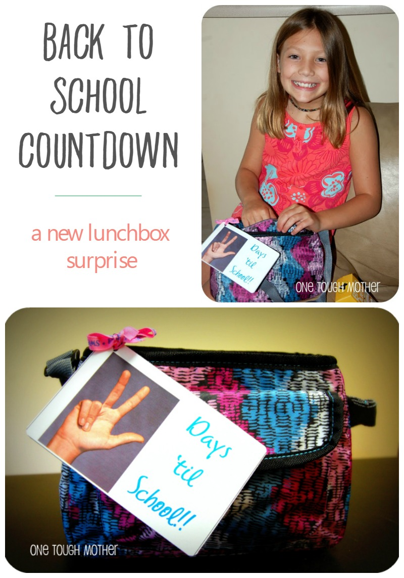 Back to School Countdown Day 3