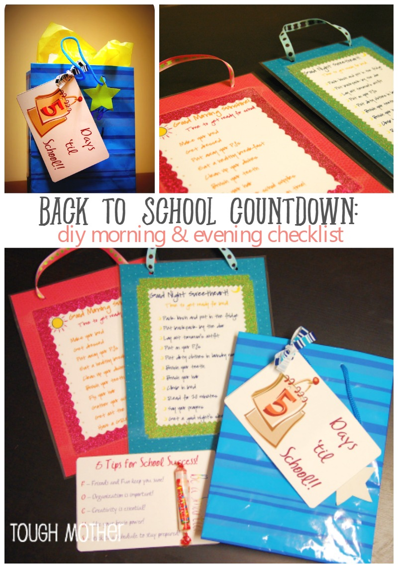 Back to School Countdown Day 5