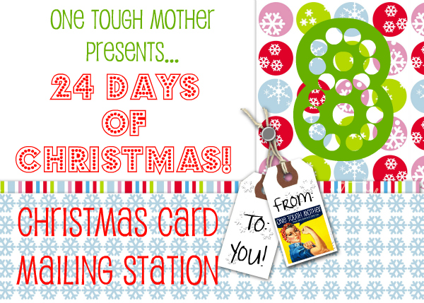 24 Days of Christmas – Day 8 – Christmas Card Station