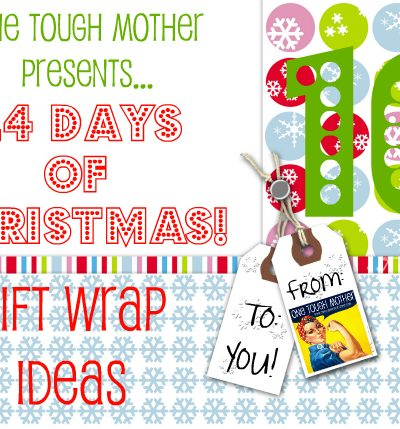 24 Days of Christmas – Day 10 – Gift Wrap Ideas