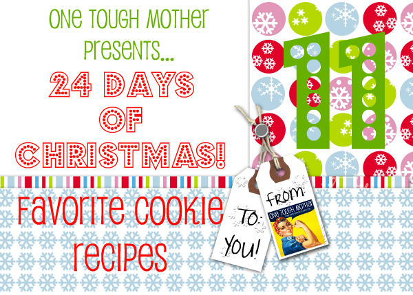 24 Days of Christmas – Day 11 – No-Bake Christmas Cookies