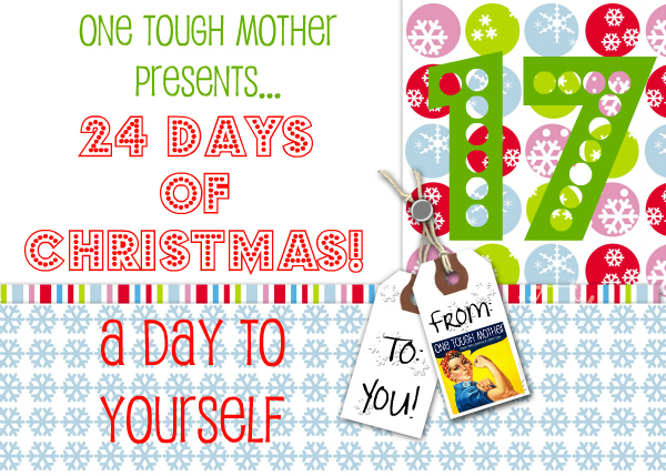 24 Days of Christmas – Day 17 – A Day to Yourself