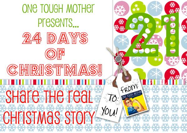 24 Days of Christmas – Day 21 – The Real Christmas Story