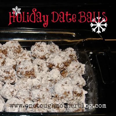 Holiday Date Balls Recipe