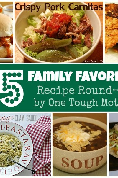 Family Favorite Recipes – Round-Up