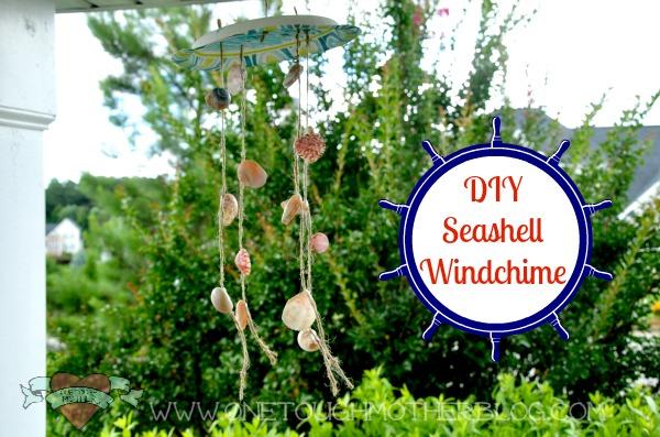 Summer Fun Camp – DIY Seashell Windchime