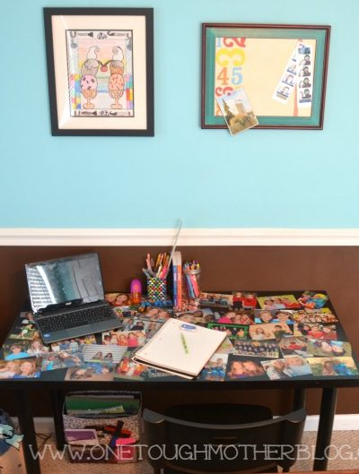 A Homework Station Fit For A Tween!