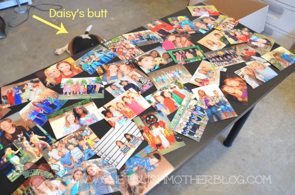 A teenager needs a cool desk, right? This simple and fun DIY Photo Collage Desk is a great way to give teens their dedicated homework space and keep their friends close (without the distractions).