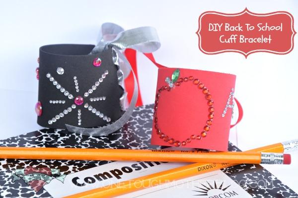 DIY Apple Back-to-School Cuff Bracelet – #MyFavoriteBloggers