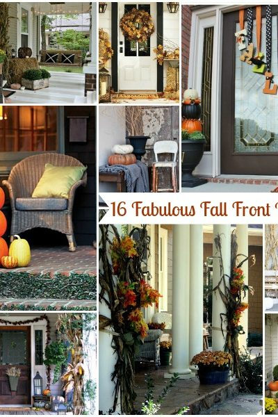 16 Fabulous Front Porches
