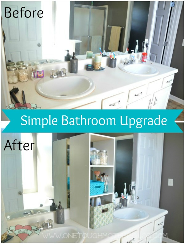 Stylish Bathroom Upgrade on a Budget – One Artsy Mama Contributor Post