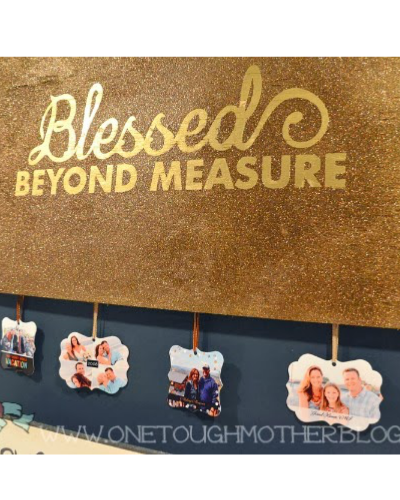 DIY Blessing Board – Silhouette Challenge