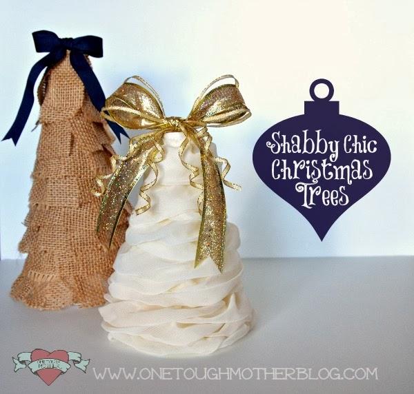 DIY Burlap Christmas Tree sweetteaandsavinggraceblog.com