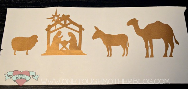 Nativity Advent Candle Box sweetteaandsavinggraceblog.com