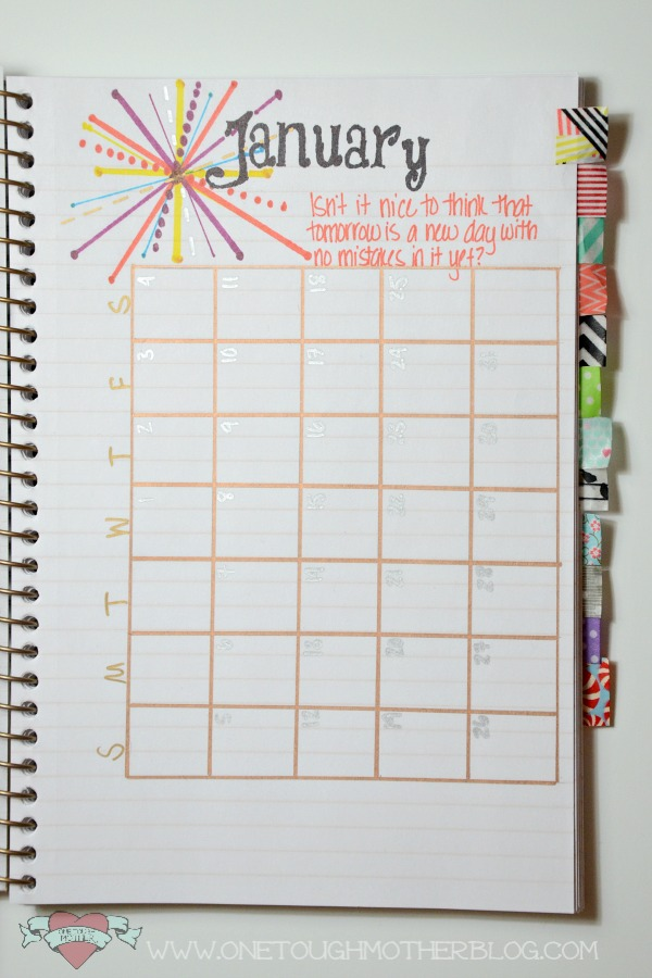 Diy Calendar Diary : Diy sharpie art journal sweet tea saving grace