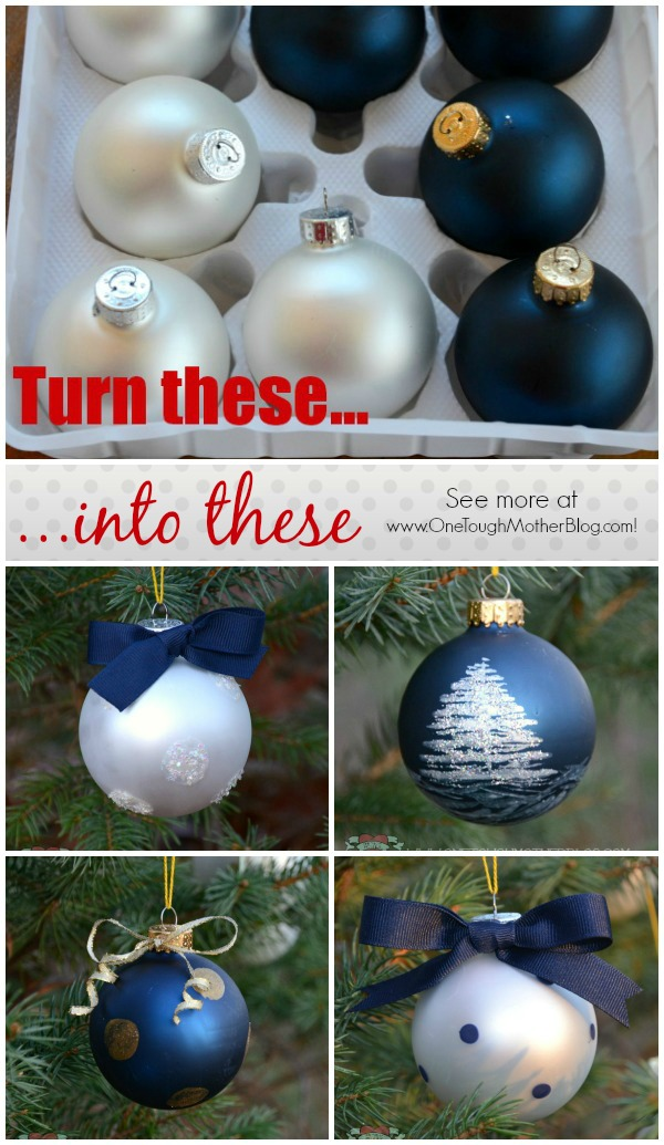 Designer Painted Ornaments