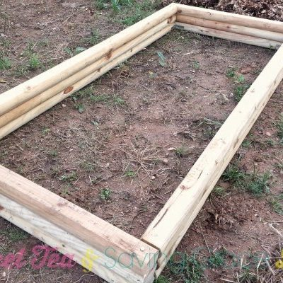 How to Build A Raised Garden Bed for Under $40