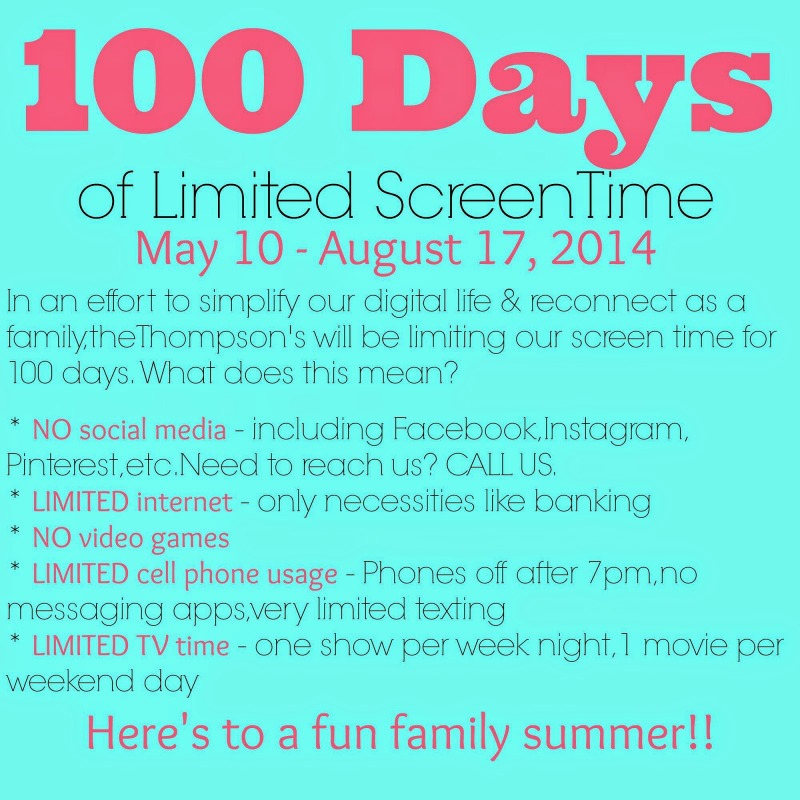 100 Day Family Challenge – Day 50 Check-In