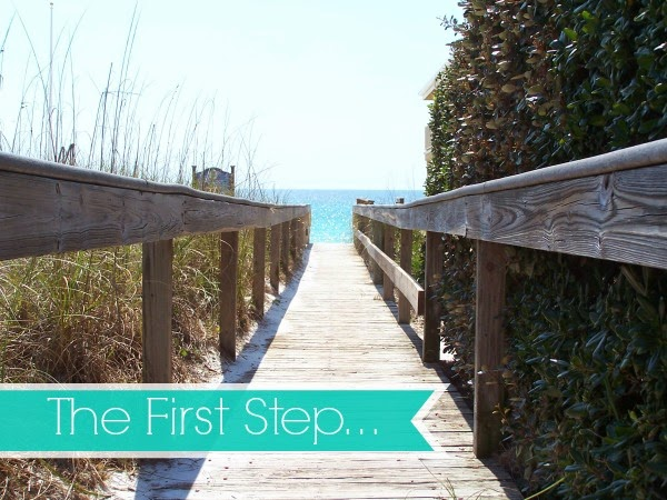 The First Step…