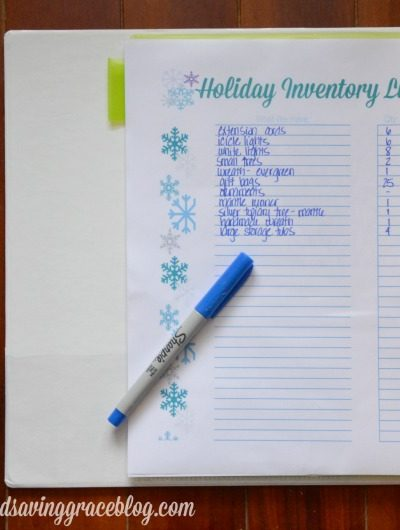 Christmas in July – Take Inventory