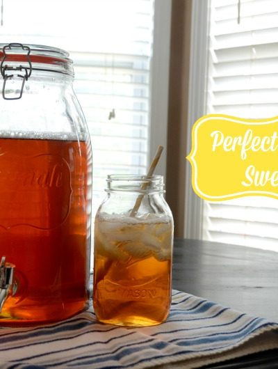 How to Make Perfect Southern Sweet Tea