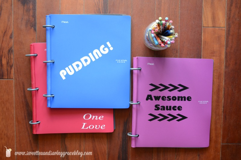 Personalized Notebooks  |  Sweet Tea & Saving Grace