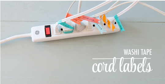 Washi Cord Labels  |  The Chic