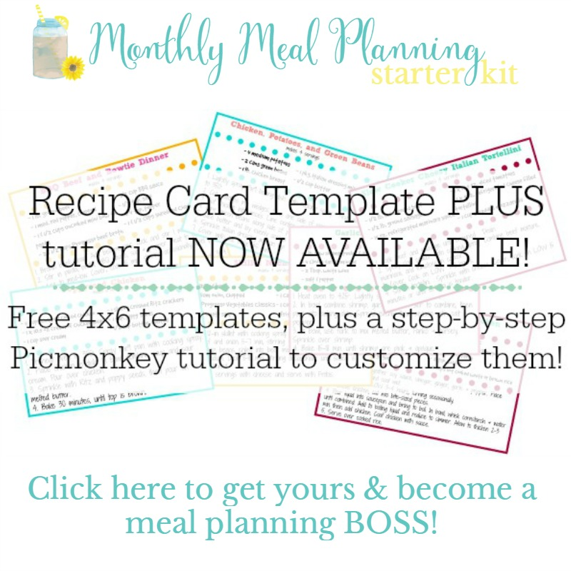 Meal Planning Signup Image