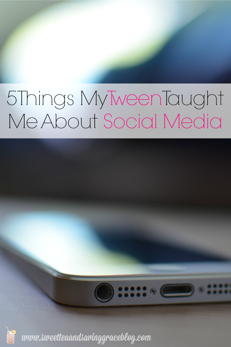 Tween Social Media  |  Sweet Tea & Saving Grace