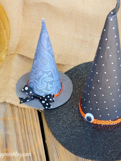 DIY Witch Hats on See Vanessa Craft