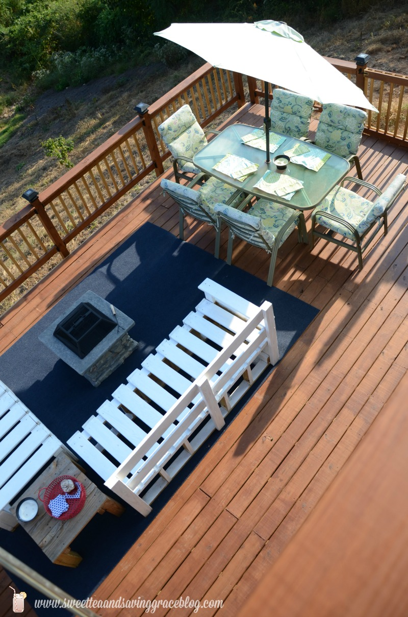 Back Deck Reveal