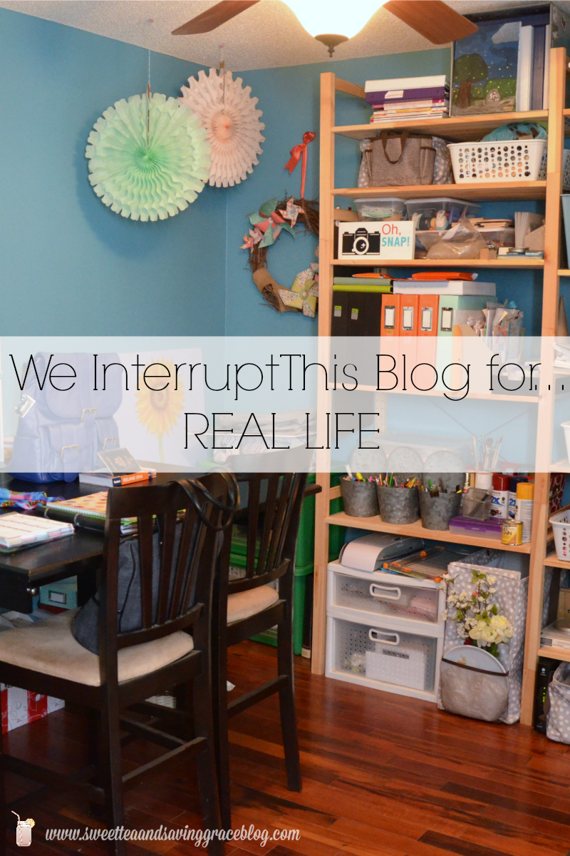 Inside a Blogger's House