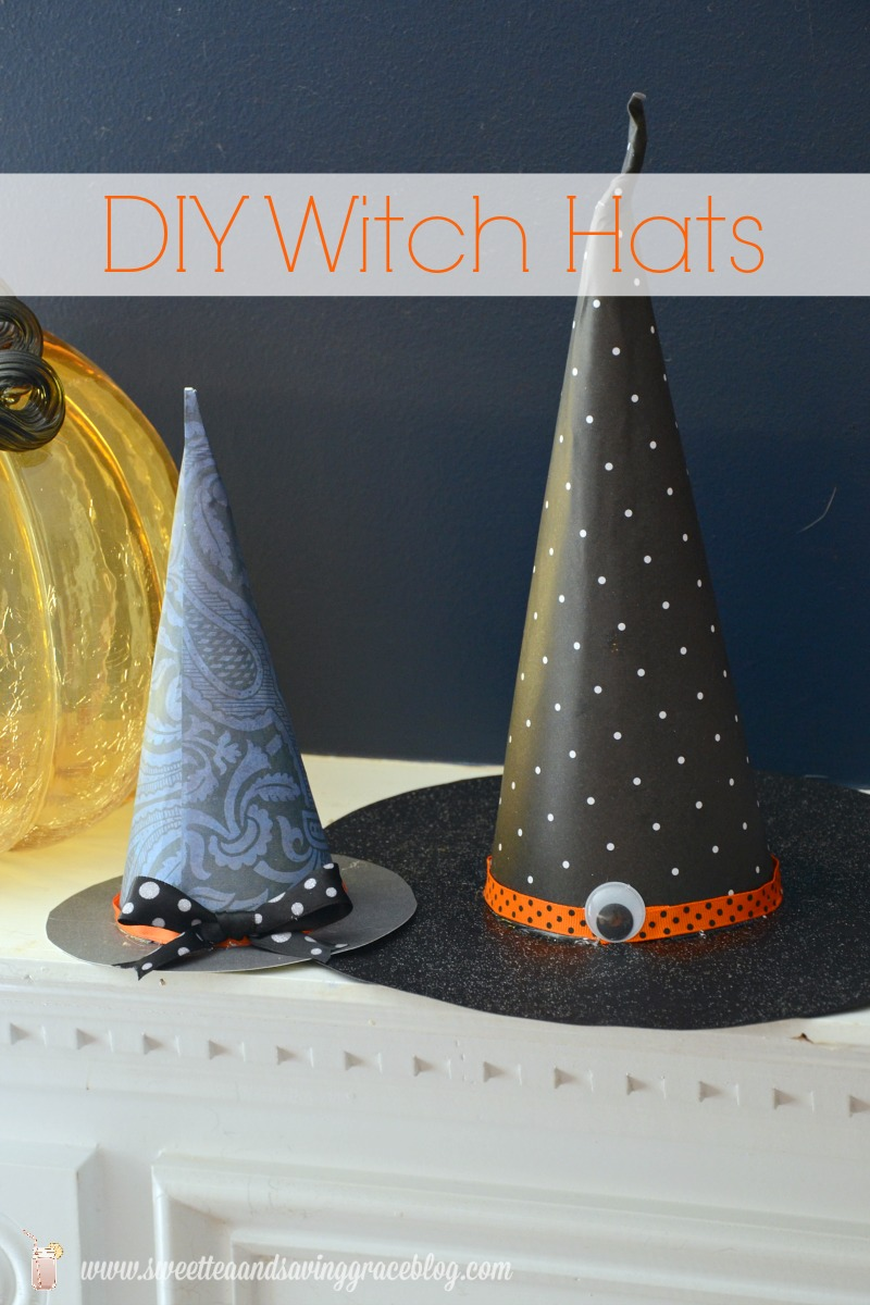 DIY Witch Hat | Sweet Tea & Saving Grace