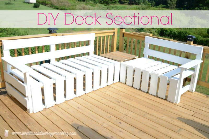 DIY Deck Sectional