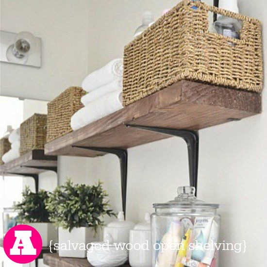 You makeover my laundry room part 4 sweet tea saving grace for Open shelving laundry room