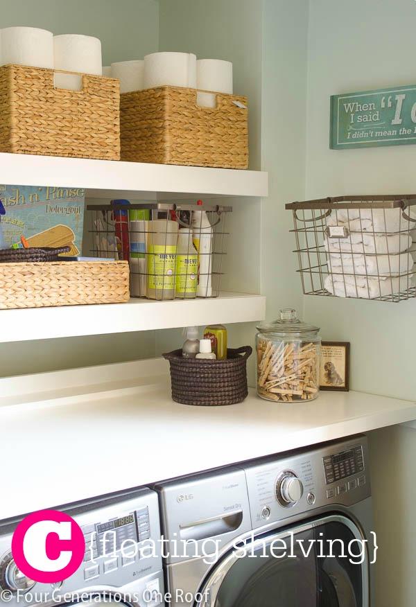 Laundry Makeover  |  Sweet Tea & Saving Grace