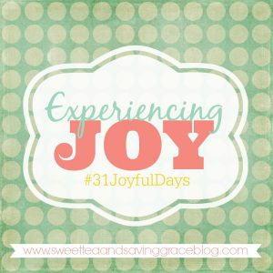 Experiencing Joy – A Blog Series