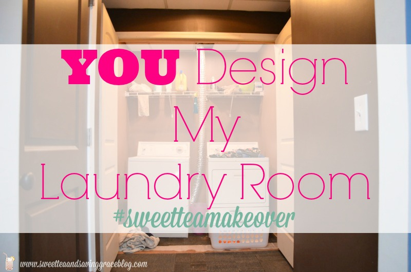 Laundry Room Makeover | Sweet Tea & Saving Grace