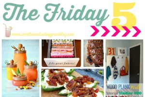 Friday Five #3 | Sweet Tea & Saving Grace