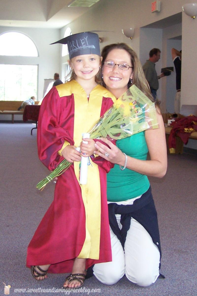 Marley & Mom1 Grad
