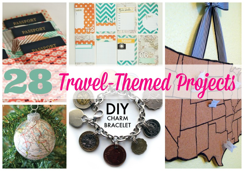 28 Travel-themed Projects & Tips