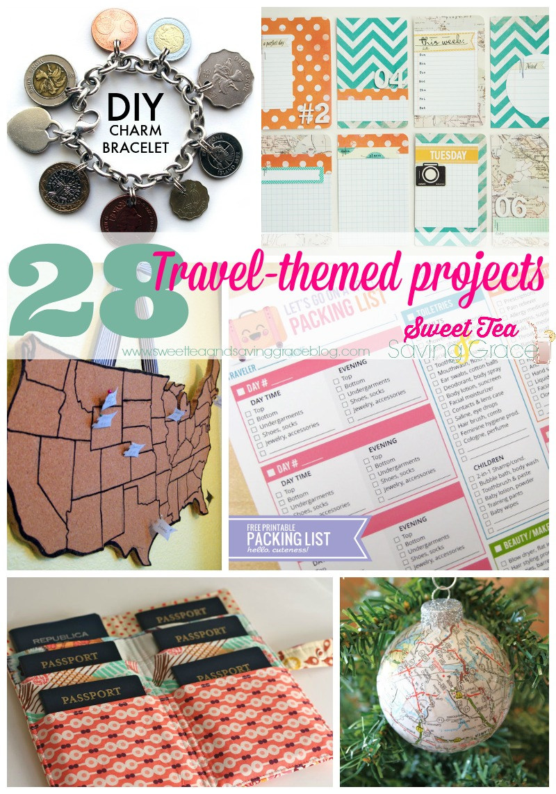 28 Travel Projects  |  Sweet Tea & Saving Grace