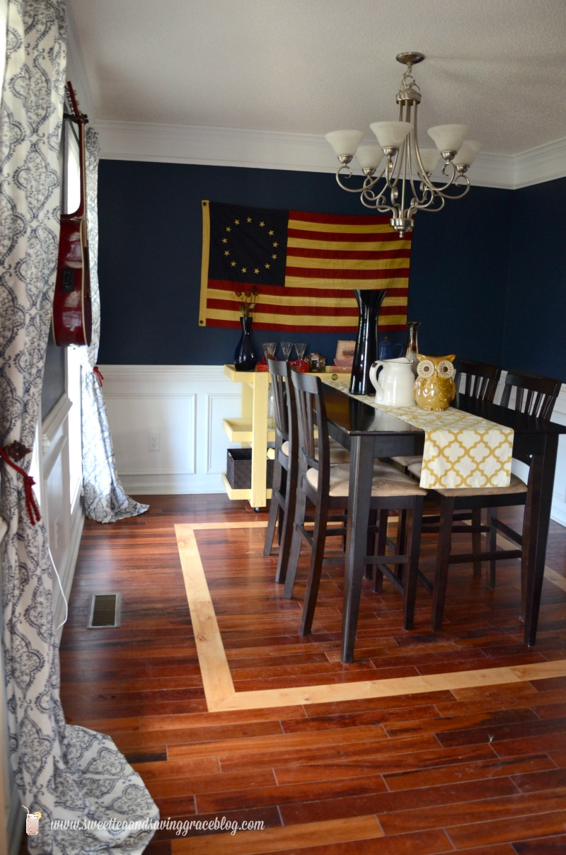 Americana Dining Room | Sweet Tea & Saving Grace