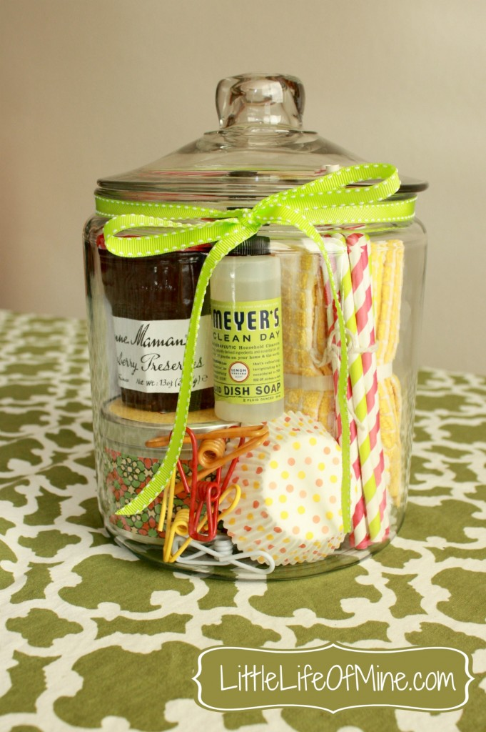 Housewarming Gift in a Jar  |  This Little Life of Mine