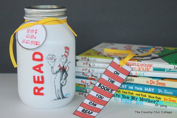 Dr Seuss Teacher Gift  |  Country Chic Cottage